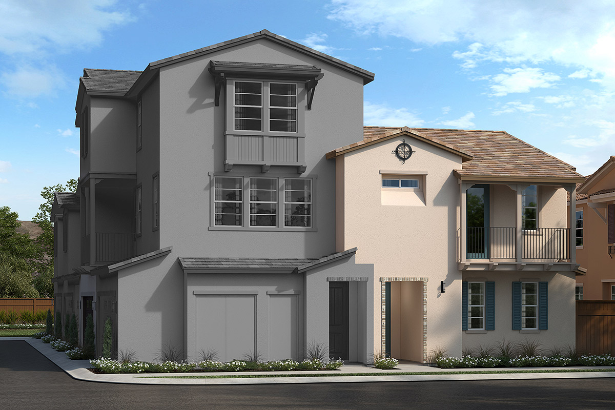 New Homes in Upland, CA - La Cresta at Sycamore Hills Plan 1837 Elevation B