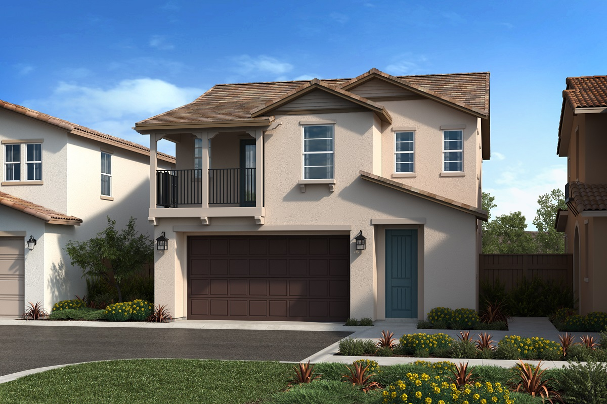 New Homes in Upland, CA - Montara at Sycamore Hills Residence 1741 - 'B'