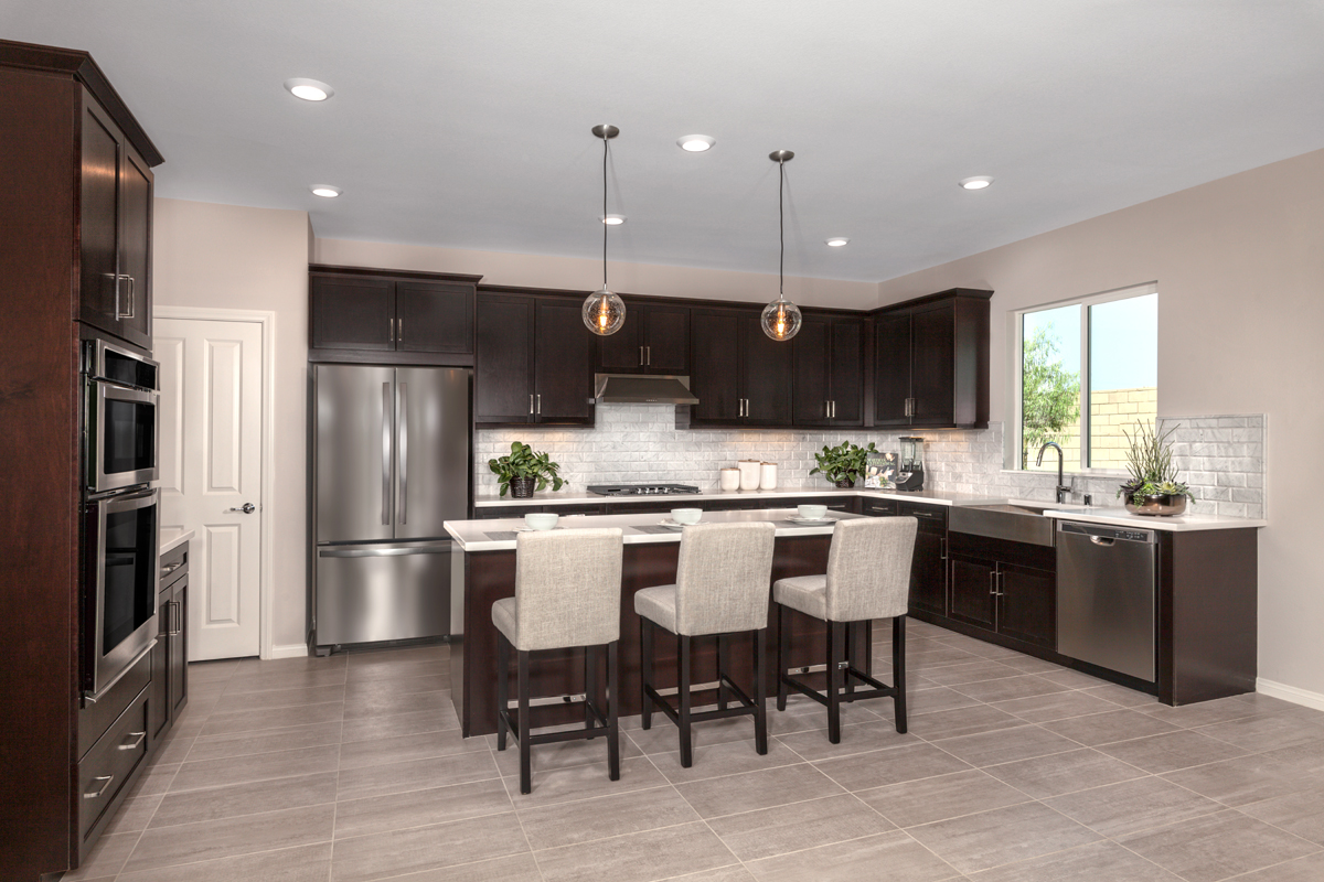 New Homes in Ontario Ranch, CA - Northpark Residence Two - Kitchen