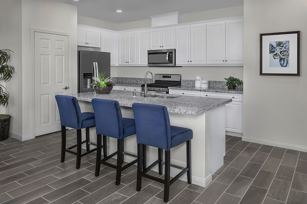 New Homes in Ontario Ranch, CA - Northpark Residence Five - Kitchen