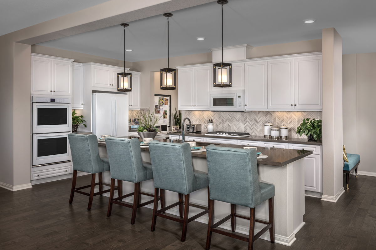 New Homes in Menifee, CA - Peppertree at Hidden Hills Residence 2925 - Kitchen