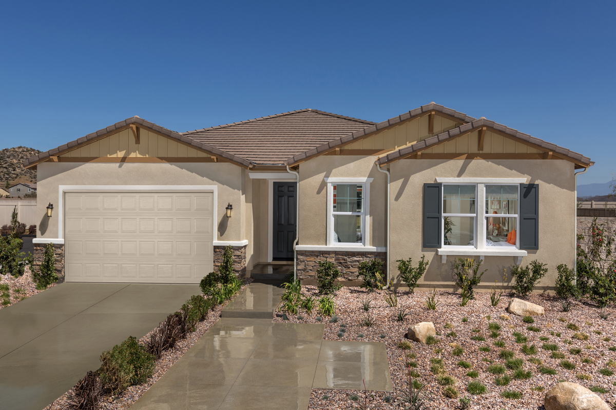 New Homes in Menifee, CA - Residence 2329 Modeled