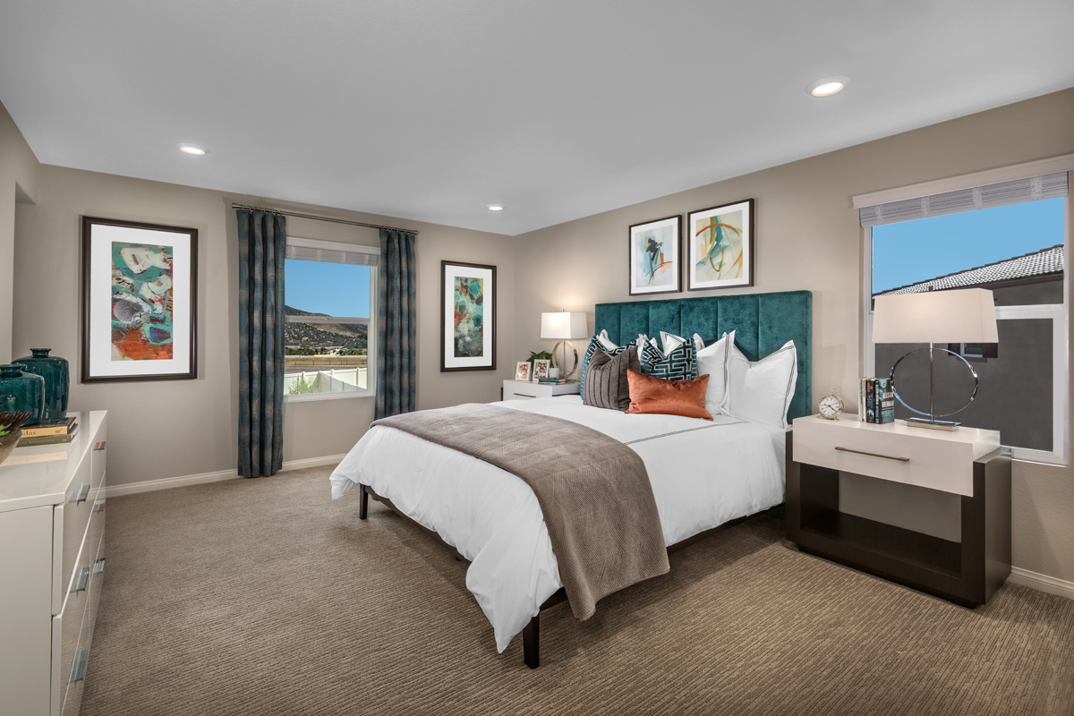 New Homes in Menifee, CA - Peppertree at Hidden Hills Residence 2544 - Master Bedroom