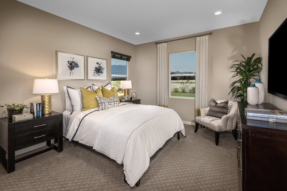 New Homes in Menifee, CA - Peppertree at Hidden Hills Residence 2773 - Junior Suite