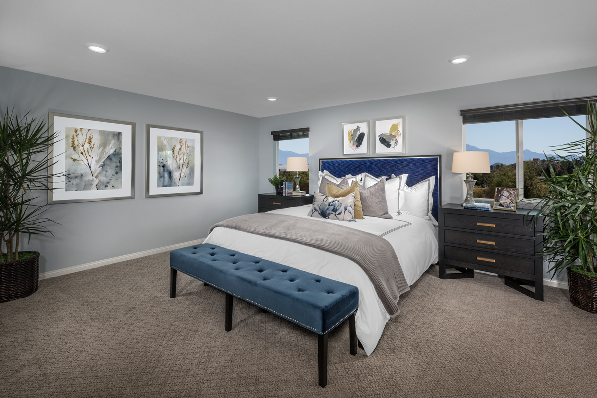New Homes in Menifee, CA - Peppertree at Hidden Hills Residence 2773 - Master Bedroom