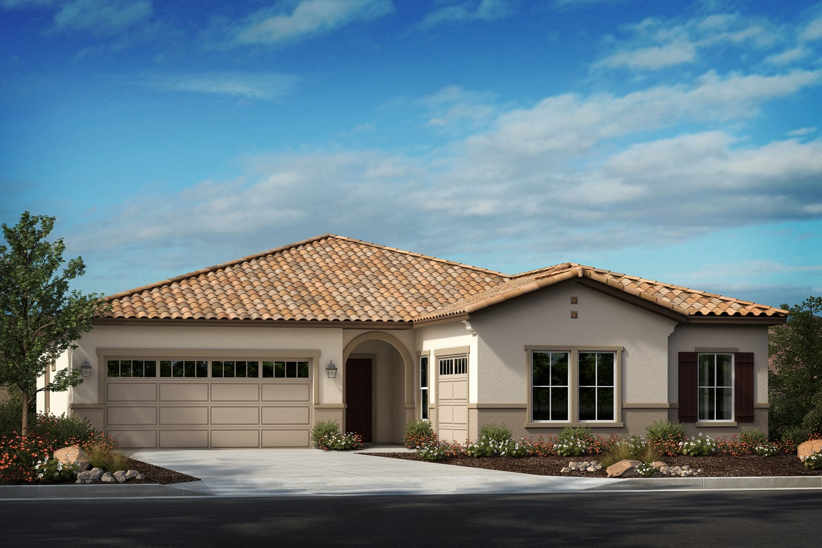 New Homes in Menifee, CA - Spanish 'A' 3-car garage