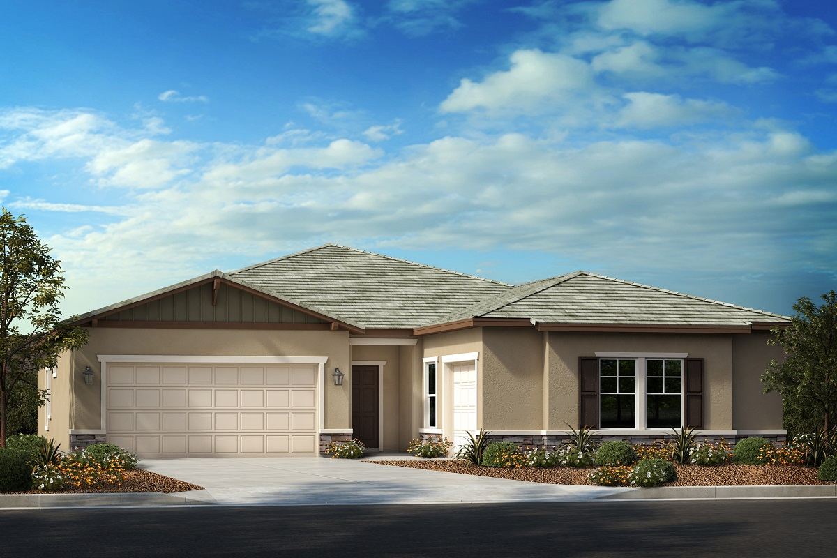 New Homes in Menifee, CA - Ranch 'B' 3-car garage