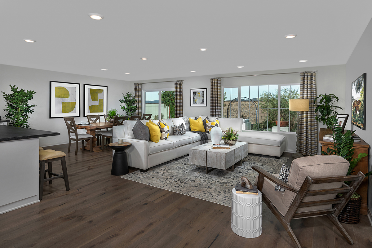 New Homes in Menifee, CA - Salerno at Shadow Mountain Residence Two - Great Room