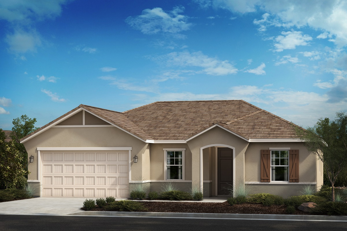 New Homes in Riverside, CA - French Cottage 'C'