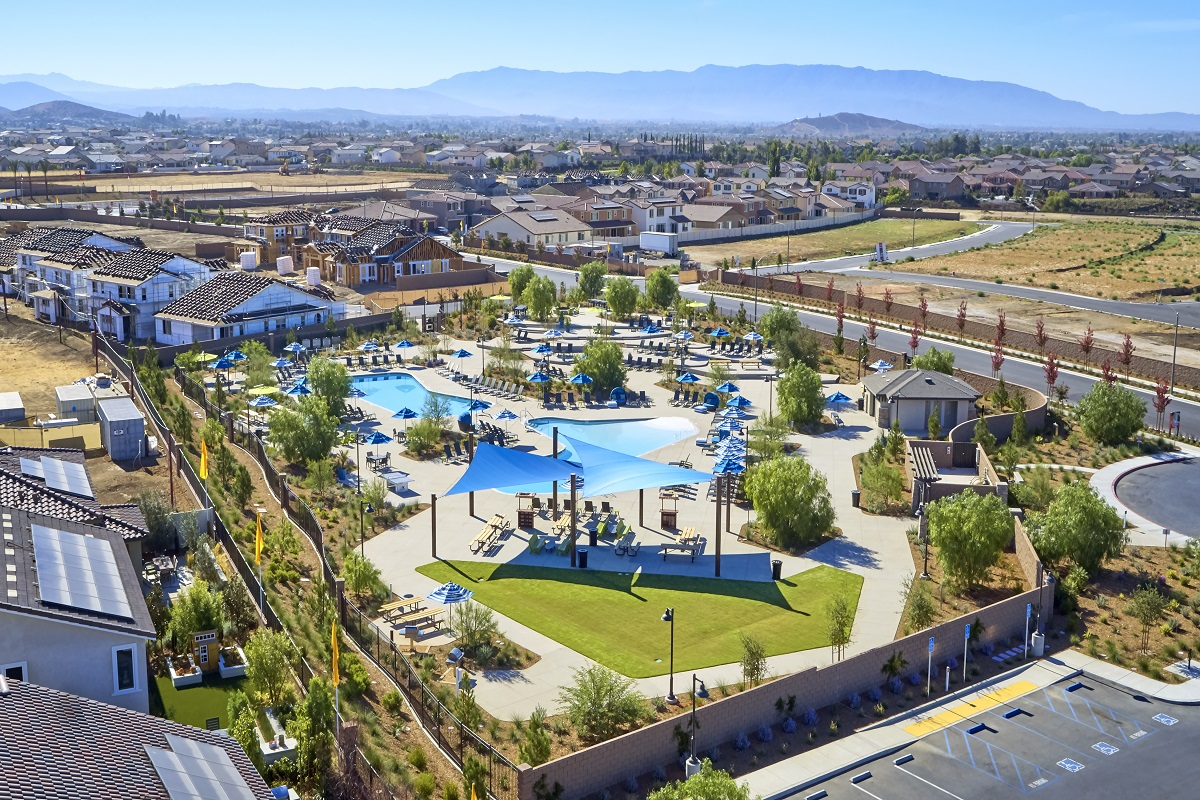 New Homes in Murrieta, CA - Santolina at Spencer's Crossing The Oasis