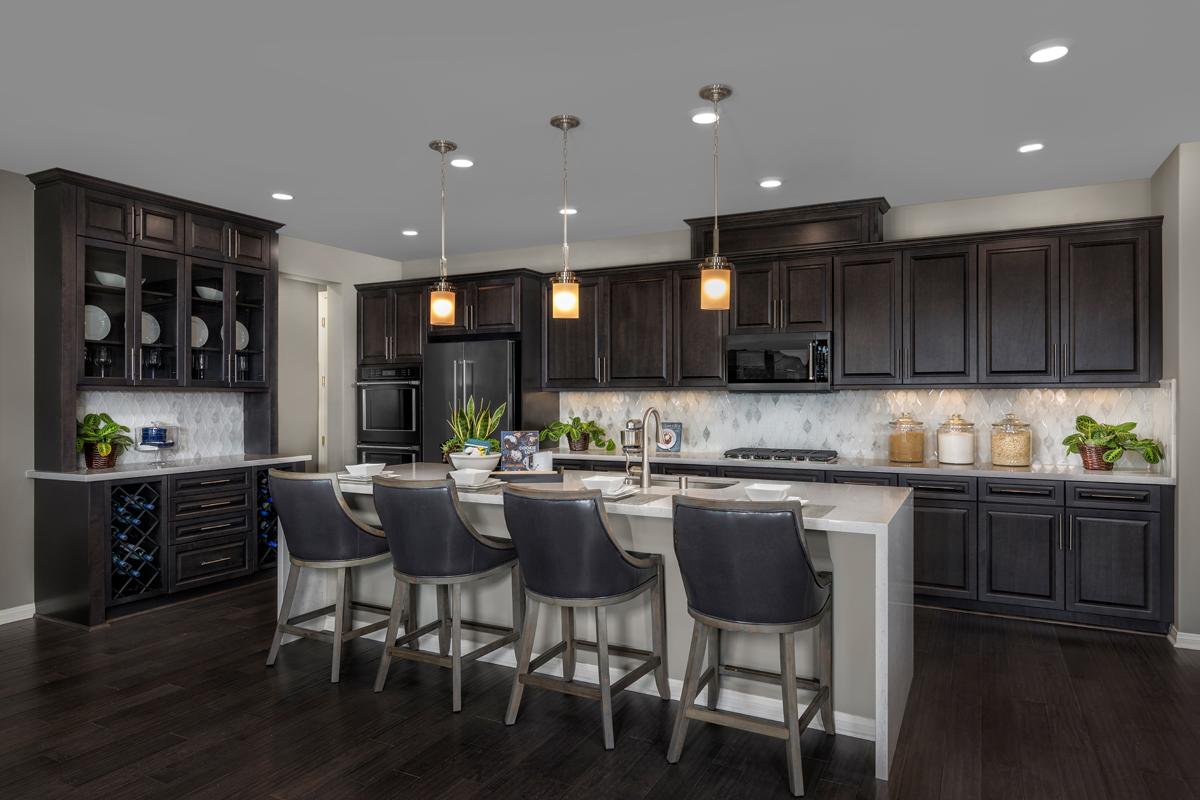 New Homes in Murrieta, CA - Santolina at Spencer's Crossing Residence 3368 Kitchen