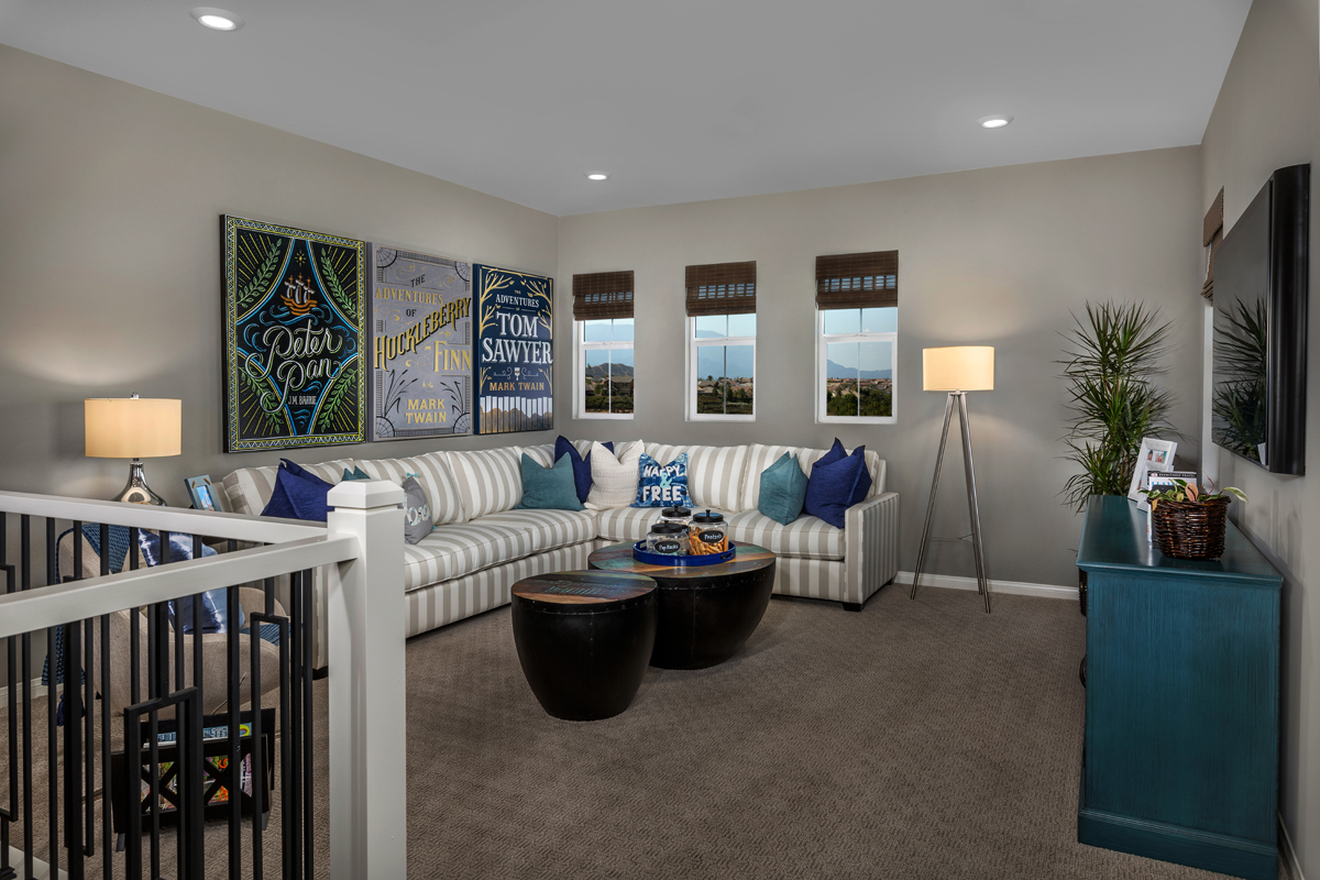 New Homes in Murrieta, CA - Santolina at Spencer's Crossing Residence 3368 Loft