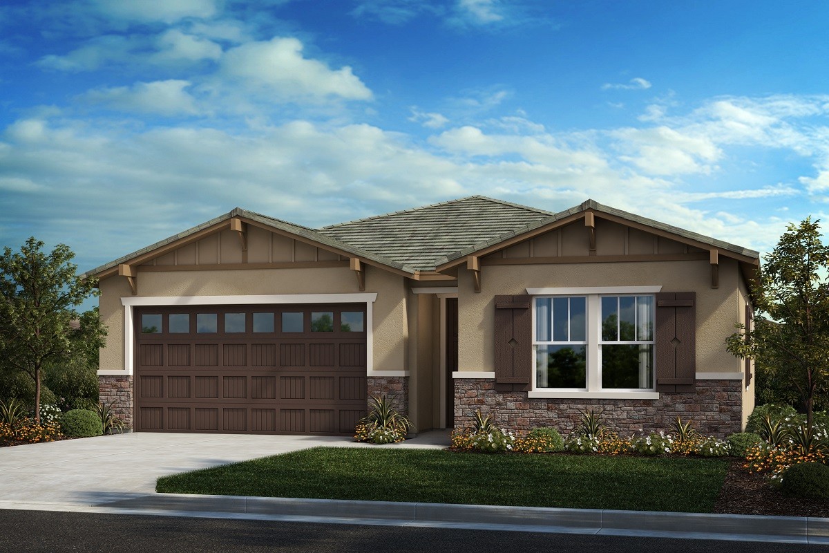 New Homes in South Perris, CA - Craftsman 'B