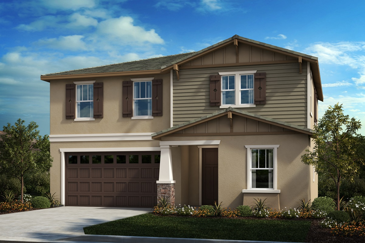 New Homes in South Perris, CA - Craftsman 'B'