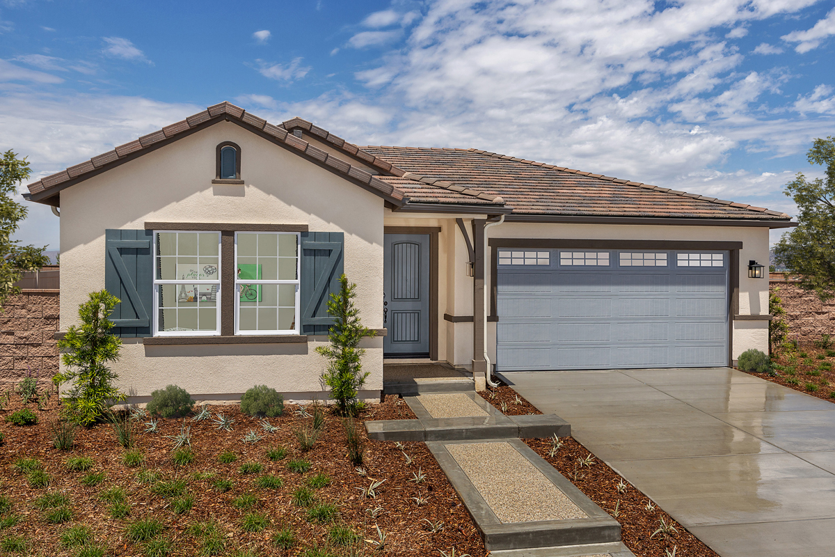 New Homes in South Perris, CA - Residence 1481 Modeled