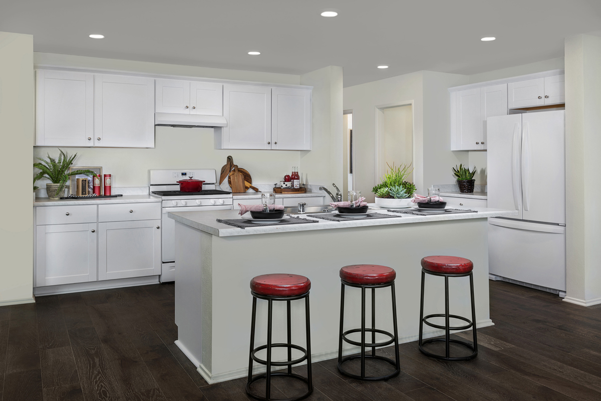 New Homes in South Perris, CA - Stonecreek at Green Valley Ranch Residence 1853 - Kitchen