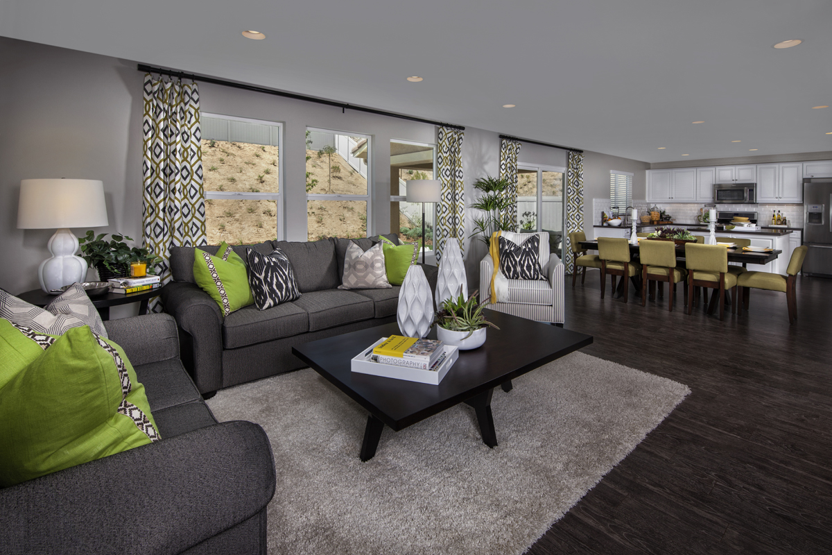 New Homes in San Jacinto, CA - Stonecrest at the Cove Residence Four - Great Room