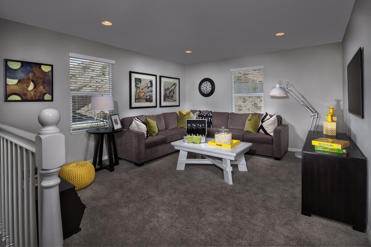 New Homes in San Jacinto, CA - Stonecrest at the Cove Residence Four - Loft