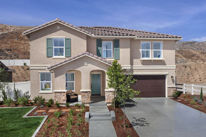 New Homes in San Jacinto, CA - Tuscan 'B'
