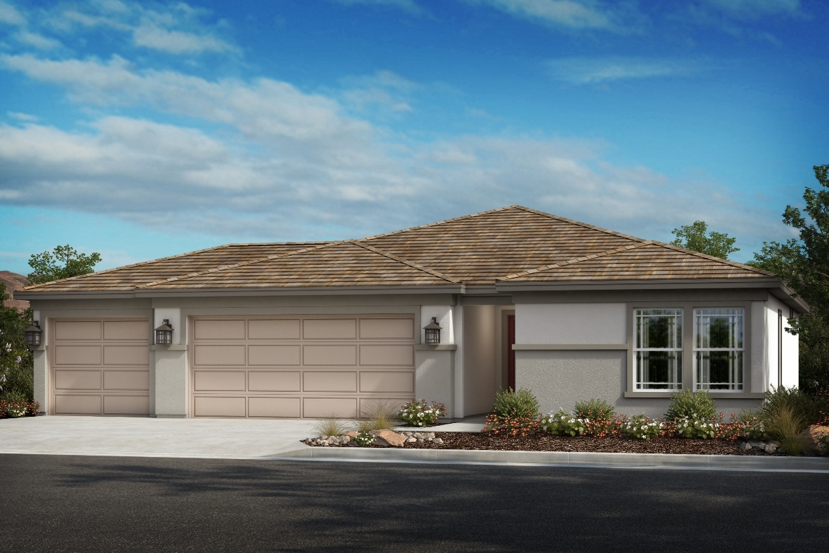 New Homes in Wildomar, CA - Elevation A - Opt. Enlarged Garage