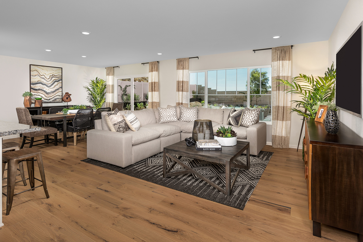 New Homes in Wildomar, CA - Summerhill Residence Two - Great Room