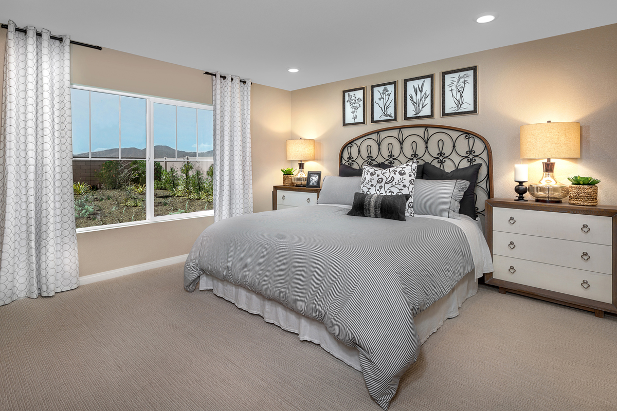 New Homes in Wildomar, CA - Summerhill Residence Two - Master Bedroom