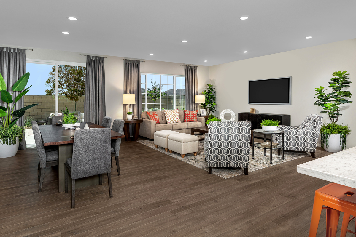 New Homes in Wildomar, CA - Summerhill Residence Four - Great Room