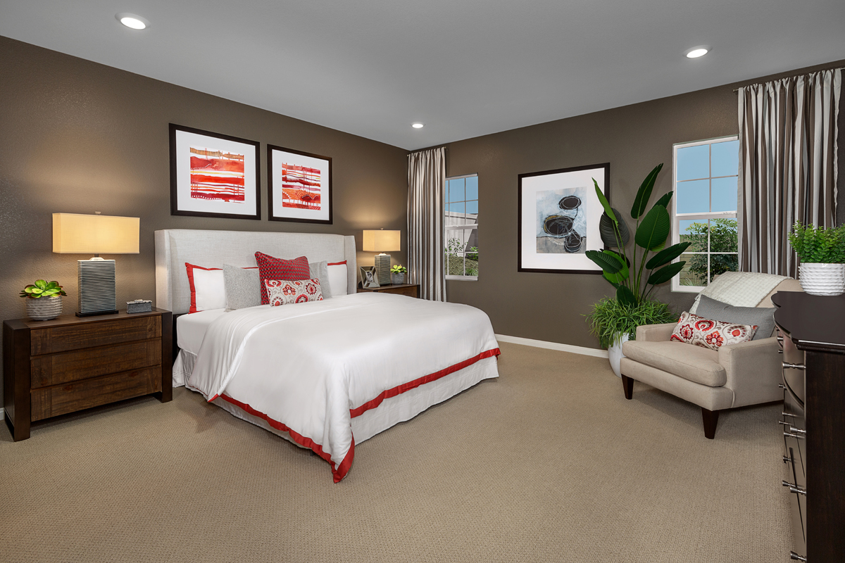 New Homes in Wildomar, CA - Summerhill Residence Four - Master Bedroom