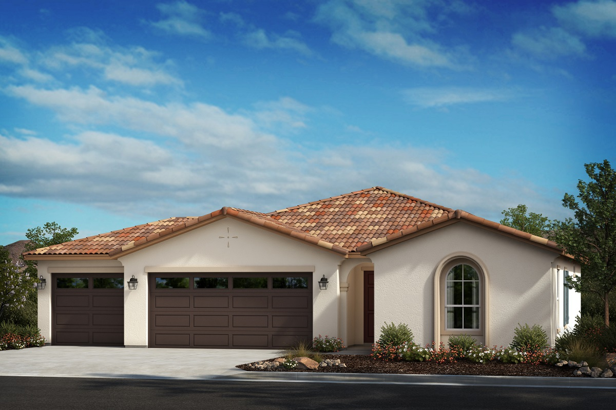 New Homes in Menifee, CA - Spanish 'A' - Opt. Enlarged Garage