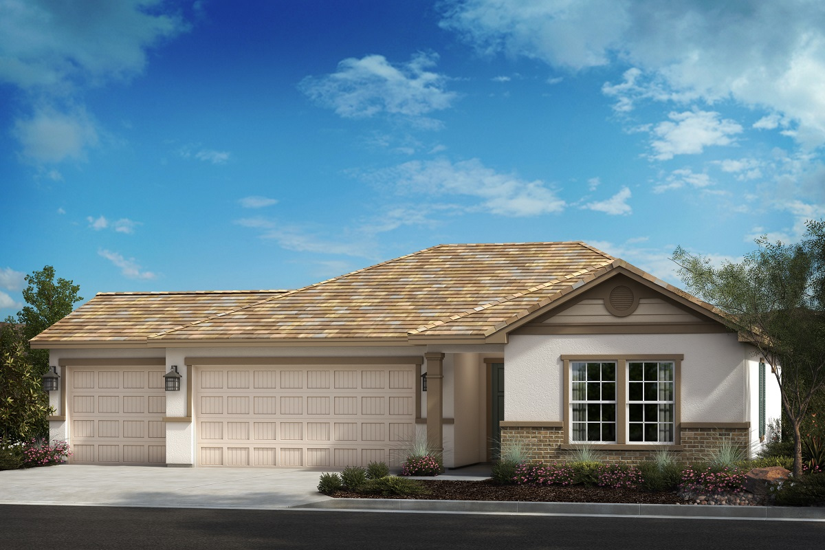 New Homes in Menifee, CA - Traditional 'C' - Opt. Enlarged Garage