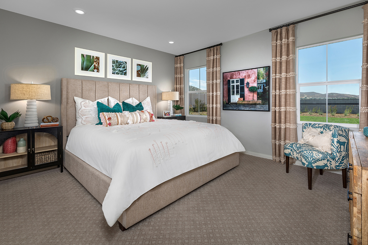 New Homes in Menifee, CA - Talavera Residence Two - Master Bedroom