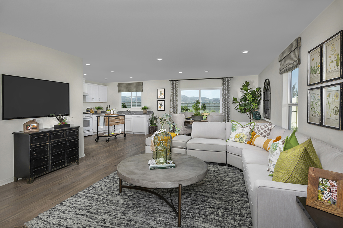 New Homes in Menifee, CA - Talavera Residence Three - Great Room