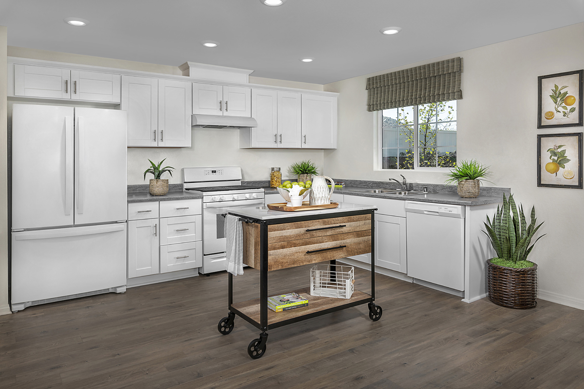 New Homes in Menifee, CA - Talavera Residence Three - Kitchen