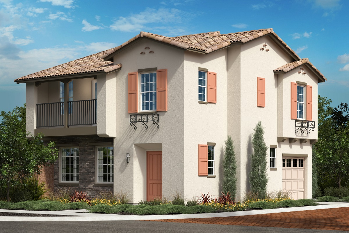 New Homes in North Fontana, CA - The Courts at El Paseo Homesite 137