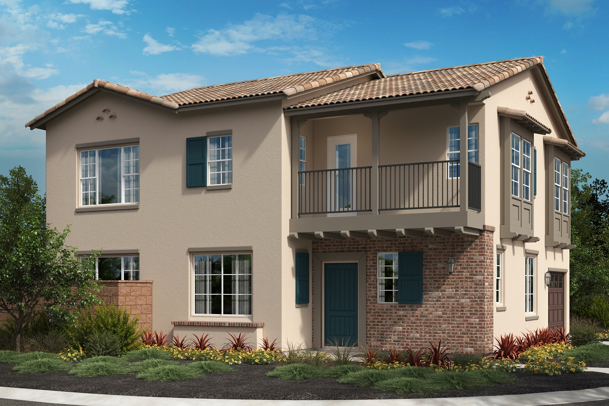 New Homes in North Fontana, CA - Monterey 'C'