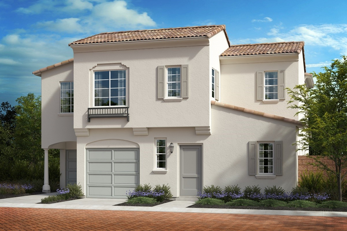 New KB quick-move-in homes available at The Courts at El Paseo in North Fontana, CA.  is one of many quick-move-in homes to choose from.