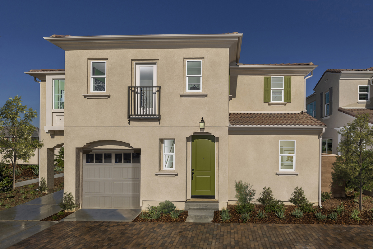 New Homes in North Fontana, CA - The Courts at El Paseo Residence Two