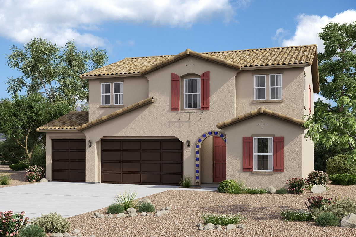 New Homes in Redlands, CA - Spanish 'A' 3-Car Enlarged