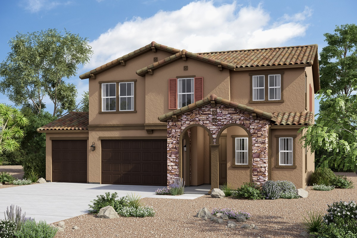 New Homes in Redlands, CA - Tuscan 'B' 3-Car Enlarged