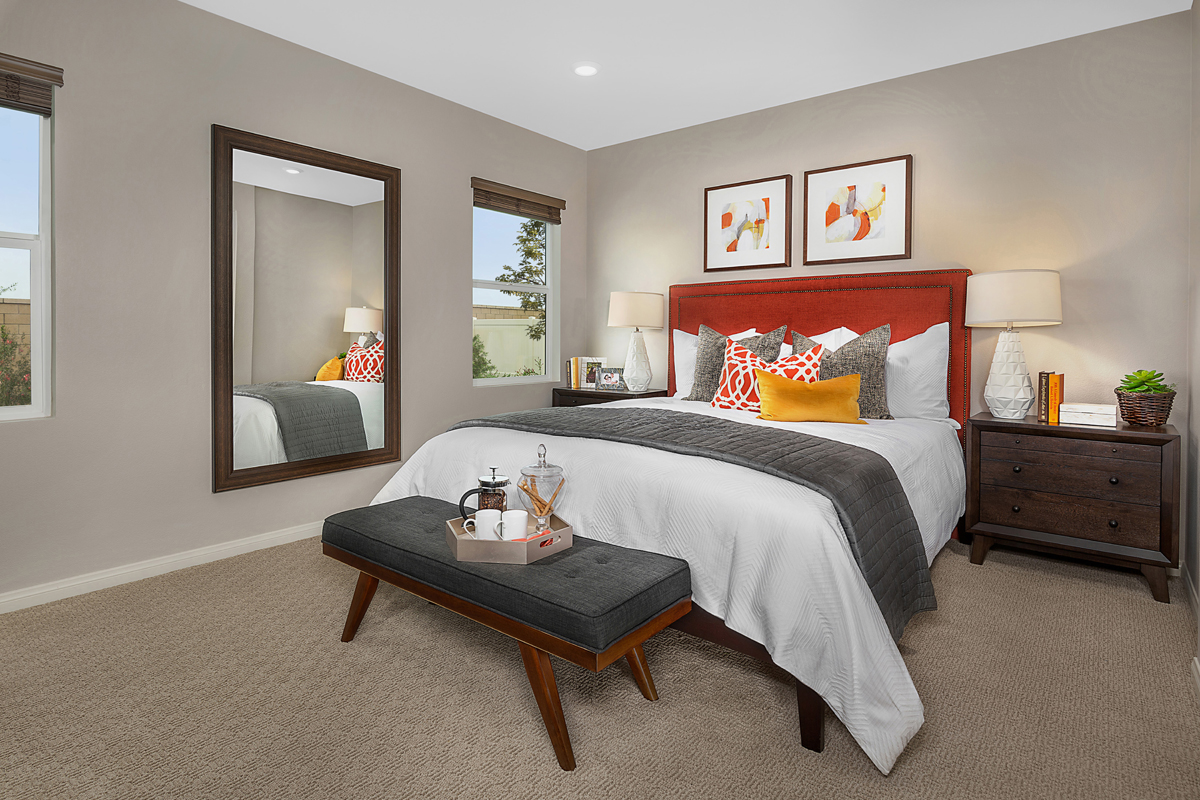New Homes in Redlands, CA - The Meadows Residence 1853 - Master Bedroom