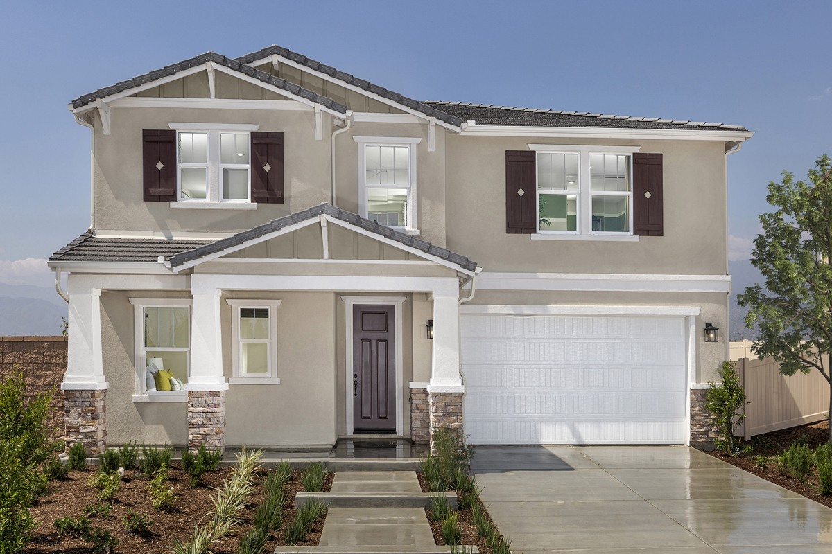 New Homes in Redlands, CA - Residence 2537 Modeled