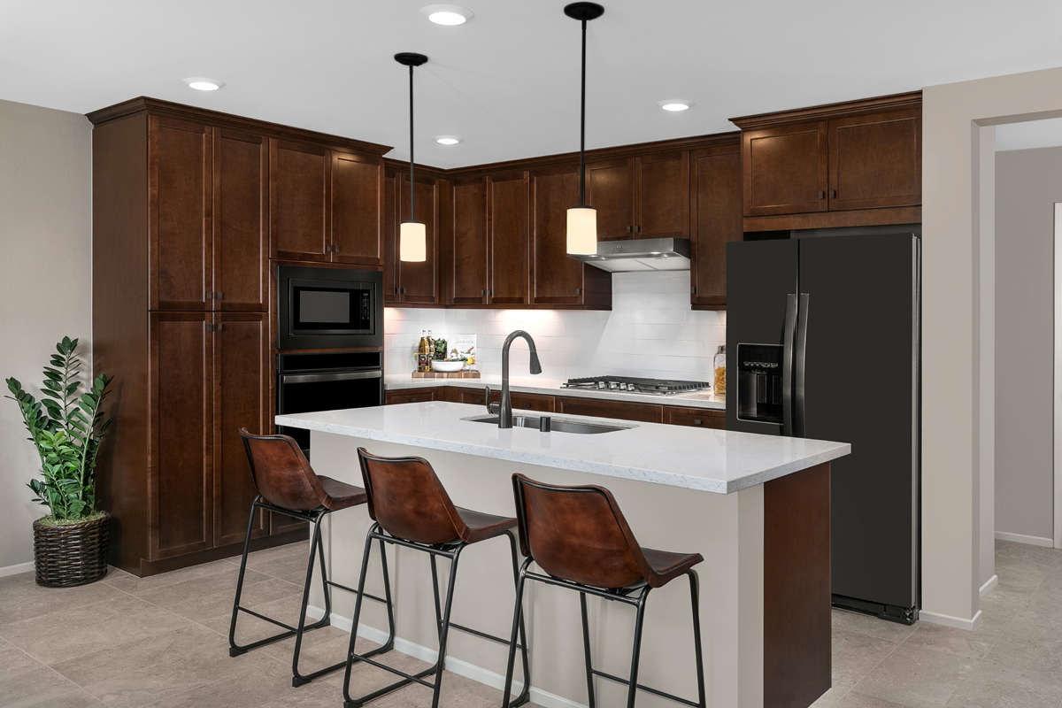 New Homes in North Fontana, CA - The Towns at El Paseo Residence Two - Kitchen