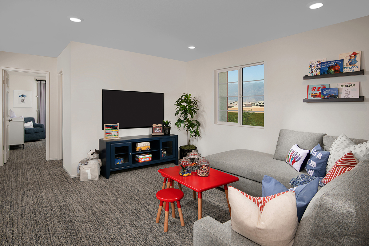 New Homes in North Fontana, CA - The Towns at El Paseo Residence Four - Loft