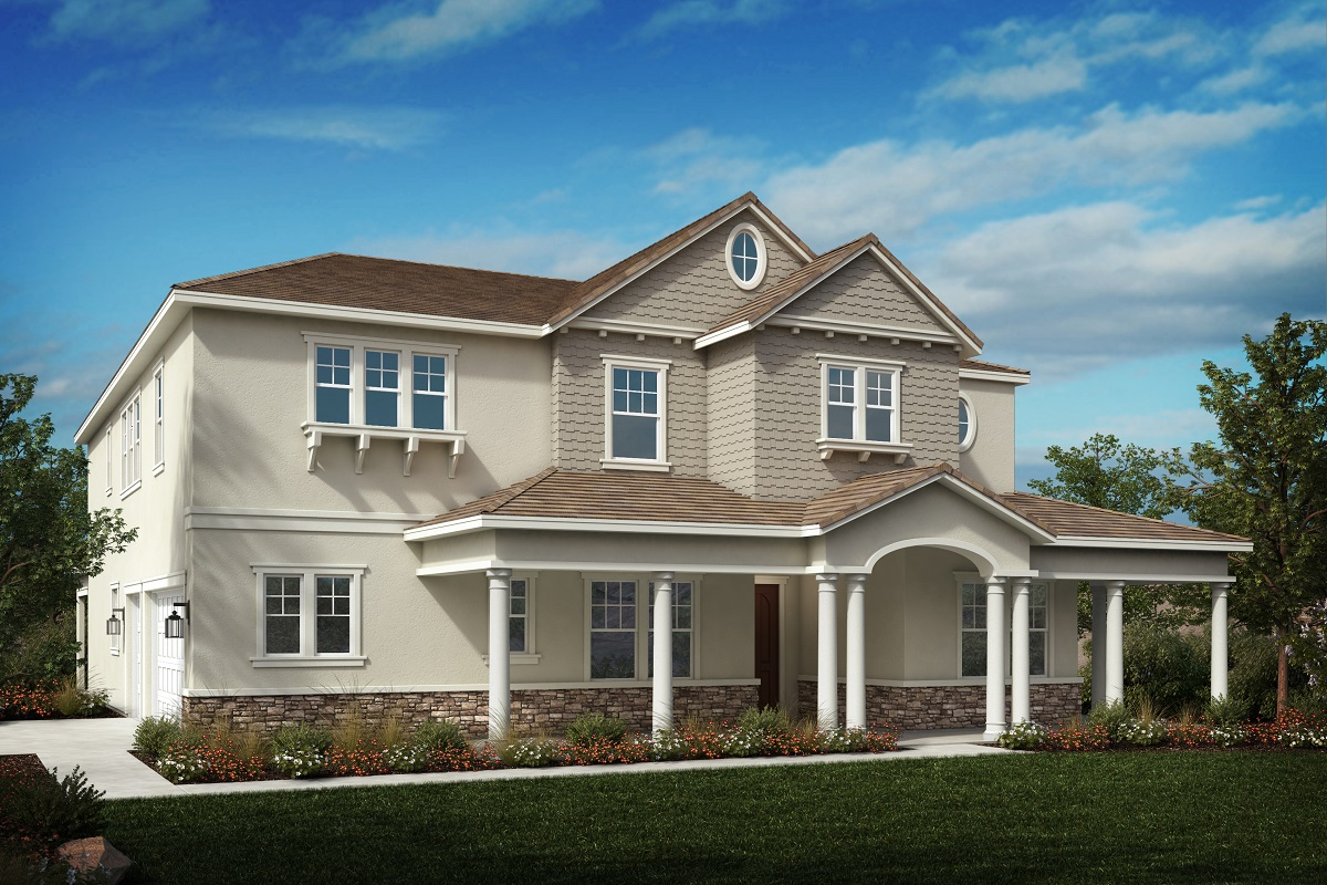 New Homes in Riverside, CA - Cape Cod 'E'