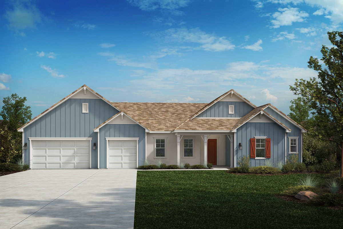 New Homes in Riverside, CA - Farmhouse 'D'