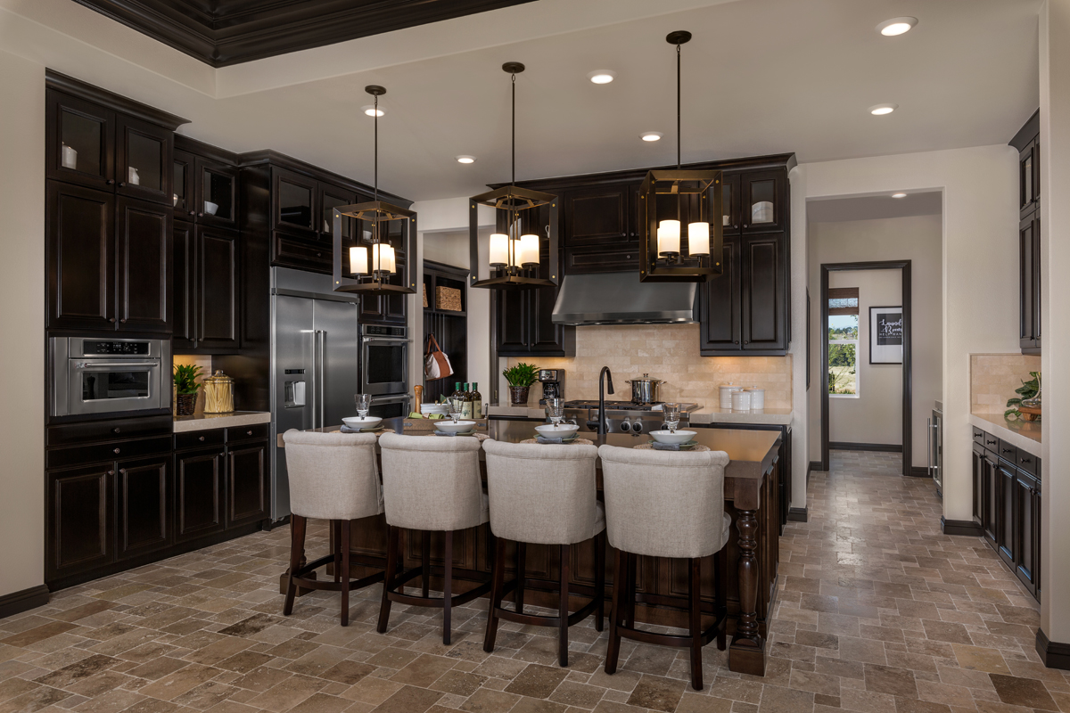 New Homes in Riverside, CA - The Trails at Mockingbird Canyon Residence One - Kitchen