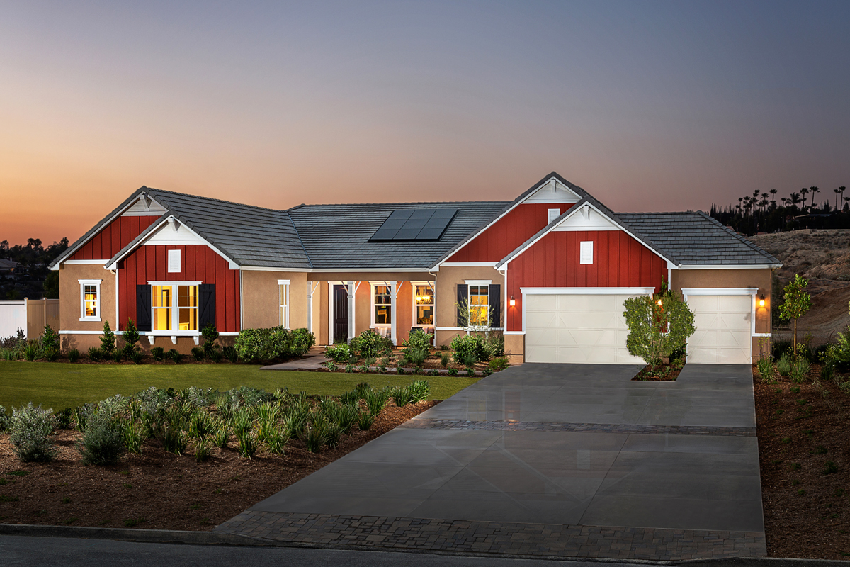 New Homes in Riverside, CA - The Trails at Mockingbird Canyon Residence One