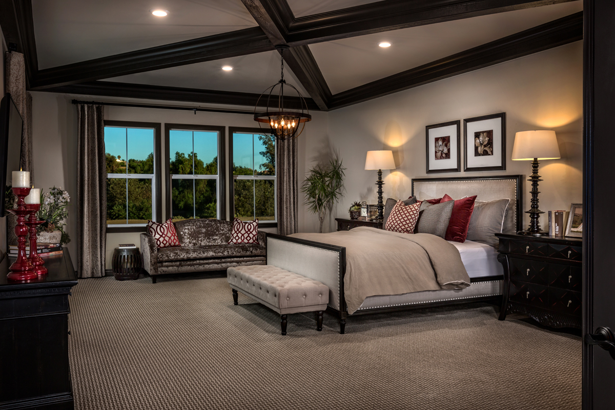New Homes in Riverside, CA - The Trails at Mockingbird Canyon Residence One - Master Bedroom