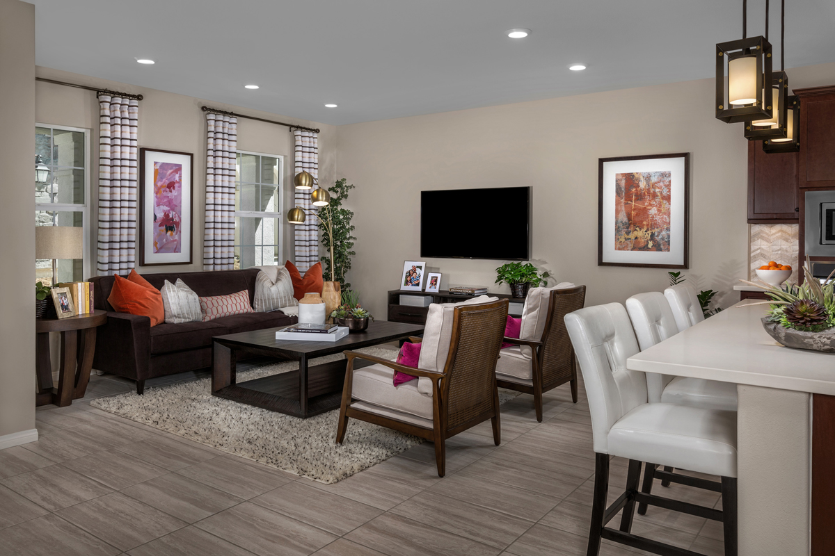 New Homes in Chino, CA - Turnleaf Residence 1879 - Great Room