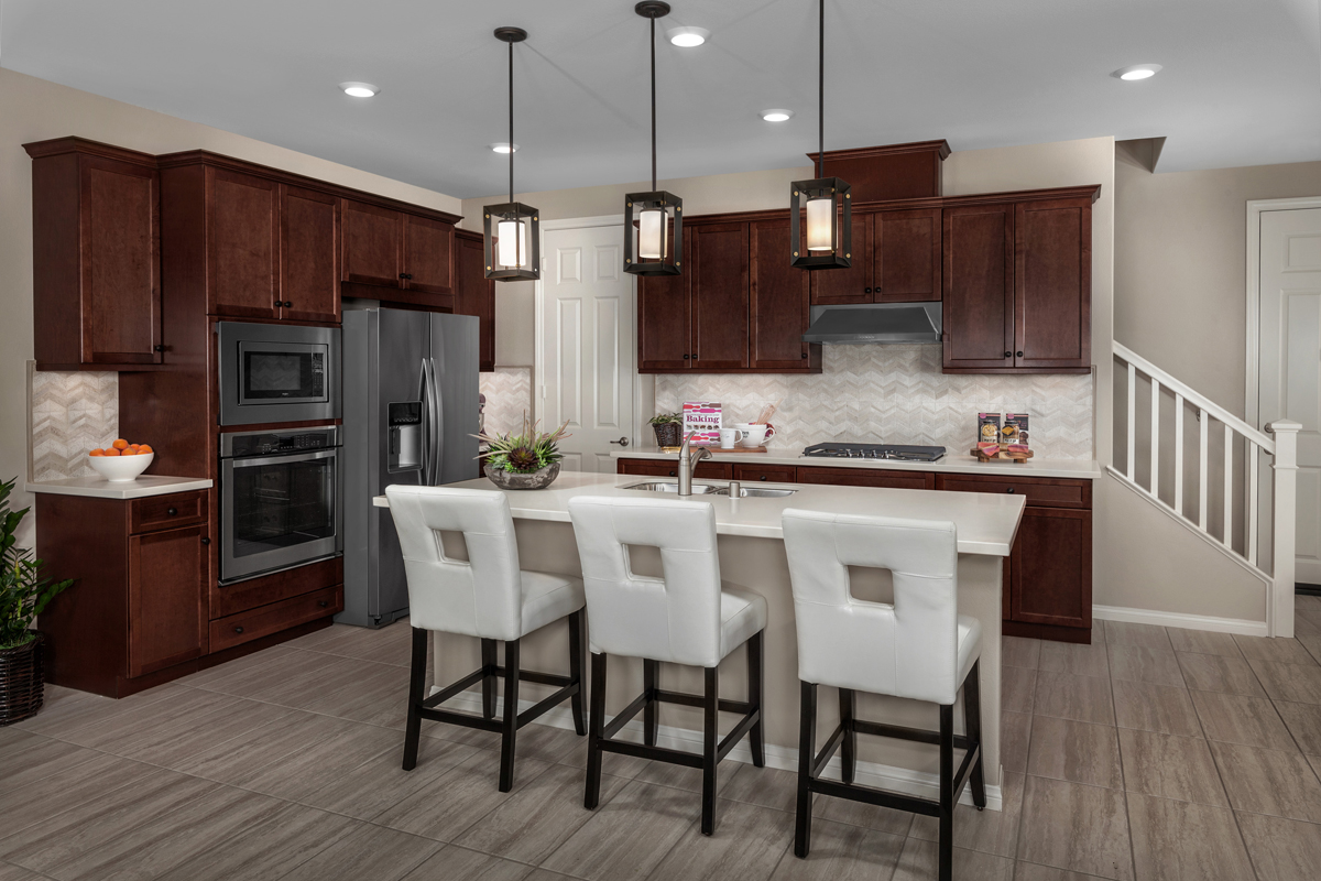 New Homes in Chino, CA - Turnleaf Residence 1879 - Kitchen